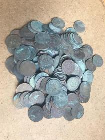 民国老铜元20文铜元190枚
