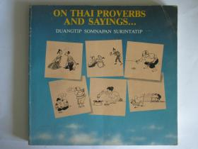 ON THAI PROVERBS AND SAYINGS