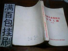 中国共产党历史教学大纲(草稿)1954年