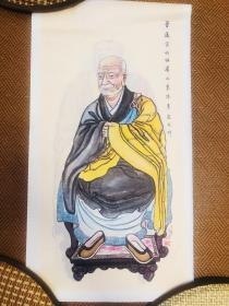 莲宗十三祖师像 净土宗 祖师像 画像