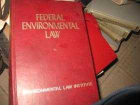 FEDERAL  ENVIRONMENTAL  LAW