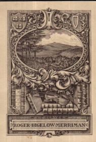 弗伦奇雕刻铜版藏书票原作16