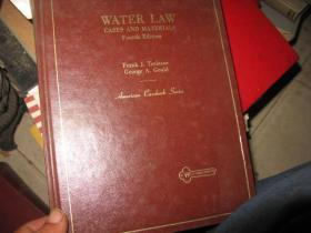 WATER  LAW  CASES AND  MATERIALS  FOURTH  EDITION
