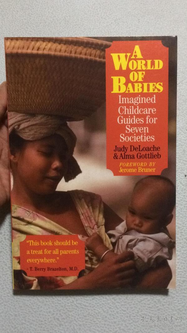 英文原版 A World of Babies:Imagined Childcare Guilds for Seven Societies (孩子们的世界:七个不同社会对育儿指南的想象。通过考察七个社会的育儿方式,认为育儿模式是由深刻的价值观和广泛的文化背景塑造的。美国伊利诺伊大学心理学教授JUDY DELOACHE等著)
