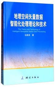 现代测绘理论与技术文库:地理空间矢量数据智能化处理理论和技术