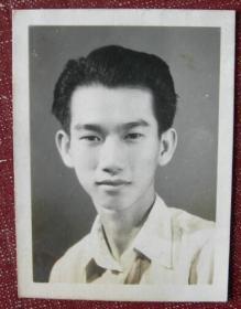 老照片:李肇宏同学。1958年赠【湖南长沙印尼归国华侨——罗汝荣,广州→长沙学习、工作、生活系列】