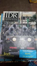 JANE`S INTERNATIONAL DEFENCE REVIEW 简氏 国际防务评论 (1995-3,8,10三本合售)