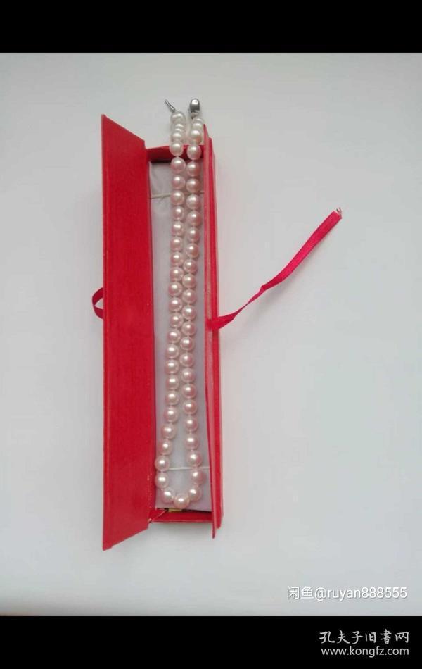 淡水正圆珍珠项链优惠价8.5-9.6MM-