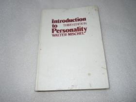 MISCHEL INTRODUCTION  TO PERSONALITY  AE6036