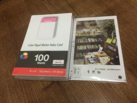 方形条格纸  15.2cm x 10.1cm  100张 粉红色   【良伴精选文具】