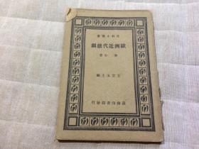 百科小丛书《欧洲近代戏剧》