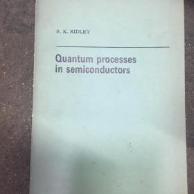 Quantum Pocess in Semiconductor 半导体中的量子过程【英文版】