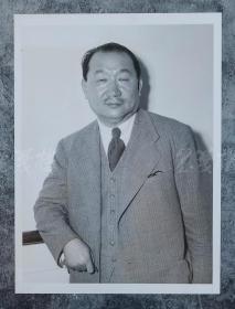孔祥熙 1937年老照片   HXTX100735