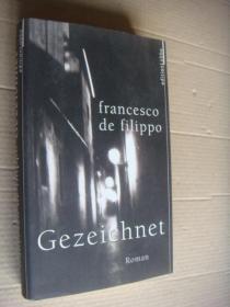GEZEICHNET 精装大32开基本算全新 德文原版