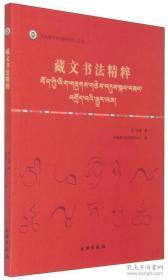 中国唐卡文化研究中心丛书:藏文书法精粹 / 茸琼培 著