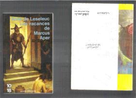法语小说 Les vacances de Marcus Aper / Anne de Leseleuc