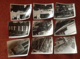 《1960年代苏联工程机械黑白老照片》9张合售