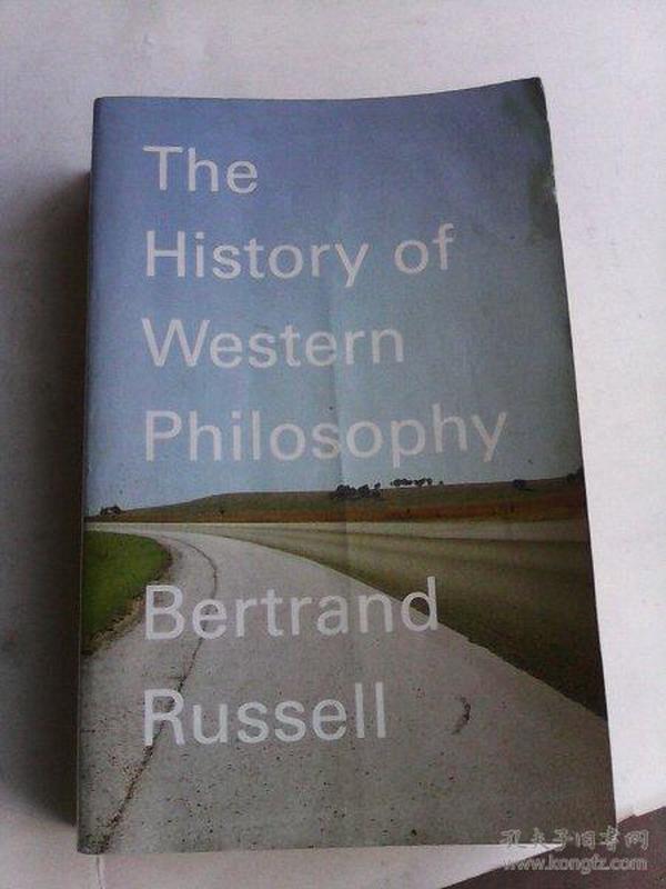 The  History of Western Philosophy    英文原版   罗素大作   西方哲学史