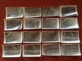 《1960年代苏联工程机械黑白老照片》30张合售