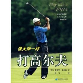像大师一样打高尔夫:50位世界顶级高尔夫球大师秘籍传授