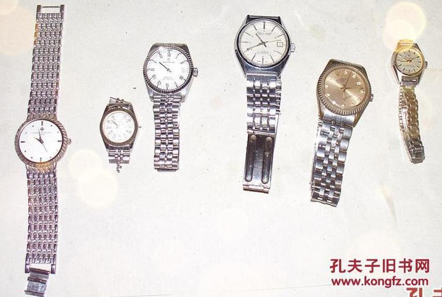 各种手表一大批全让(有双狮,上海,广州,春雷、劳力士,山度士,梅花,海鸥等牌子)