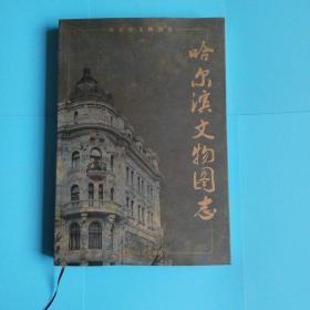 哈尔滨文物图志 布面精装 八开彩印