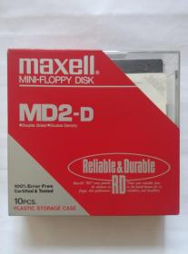 《maxell----MD2-D软盘》
