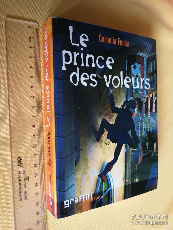 """法文原版   Le prince des voleurs.cornelia funke """"德国的罗琳""""柯奈莉亚·冯克作品"""