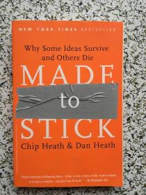 Made to Stick: Why Some Ideas Survive 让创意更有黏性 英文原版