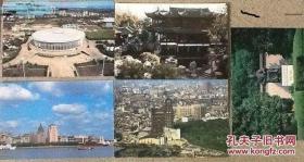 上海风光邮资4分明信片(约13000枚)1)豫园,2)外滩,3)鲁迅墓,4)体育馆,5)鸟视图(其中:豫园1700枚可做极限片)