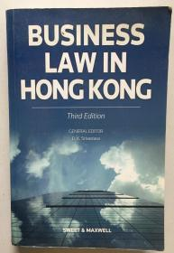 BUSINESS LAW IN HONG KONG(第3版,16开一厚册746页)