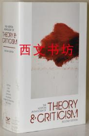 【包邮】2010年出版The Norton Anthology of Theory and Criticism精装