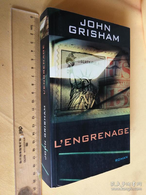 法文原版 <三兄弟> LENGRENAGE.JOHN GRISHAM (the brethren)