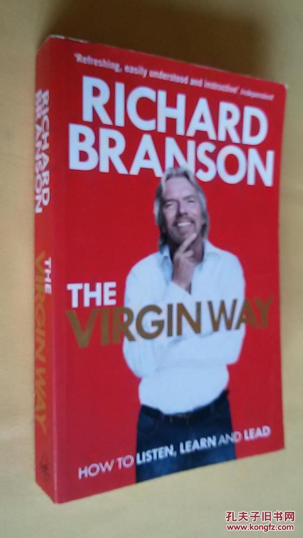 英文原版 The virgin way by RICHARD BRANSON
