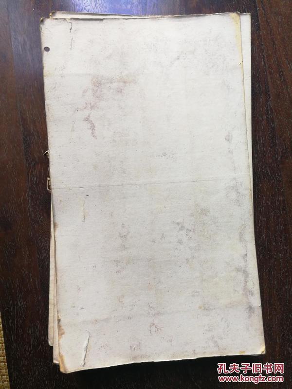 汉《礼器碑》旧拓碑帖 完整一册