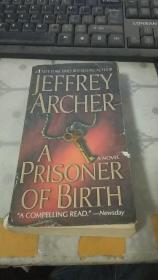 JEFFREY ARCHER A PRISONER OF BIRTH