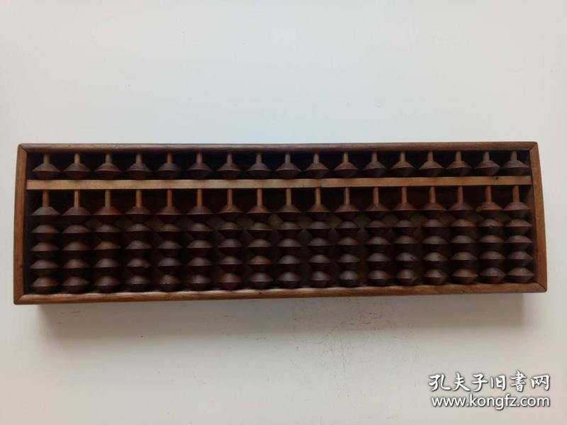 老算盘·日本老算盘·解放后期十七位老算盘·稀少【包老保真】实物拍摄·详情见图.