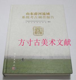 山东薛河流域系统考古调查报告