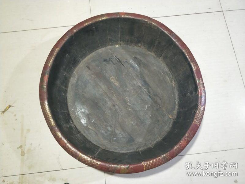 老木胎漆器盆,代理转图可以加价,运费自理。
