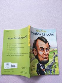 Who Was Abraham Lincoln? (Who Was...?)【实物图片】