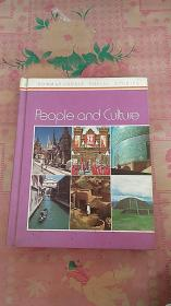 People and culture(精装本) 画册 1980年出版