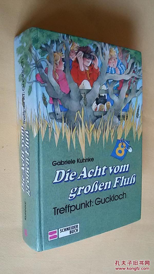 德文原版 Die Acht vom großen Fluß. Treffpunkt: Guckloch.