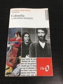 法文原版 Colomba de PROSPER MERIMEE