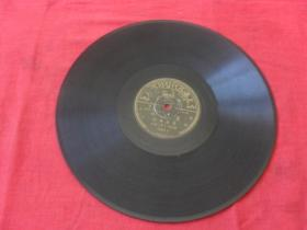 民国珍惜少见百代公司唱片---李丽华 唱《晨光好  万紫千红》孔网未见!品好