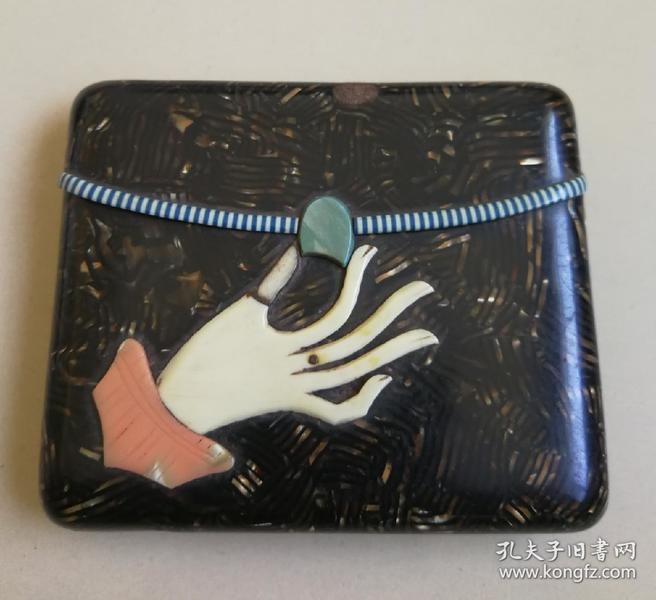 珍贵材料制作 烟盒(民国,上流社会时尚珍品)