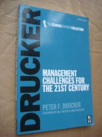 Management Challenges for the 21st Century(Revised edition,the classic drucker collection 德鲁克管理学名著 <21世纪的管理挑战》,正版,非馆无划,品相甚佳