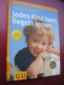 Jedes kind kann Regeln lernen 德文原版 精装全铜版纸