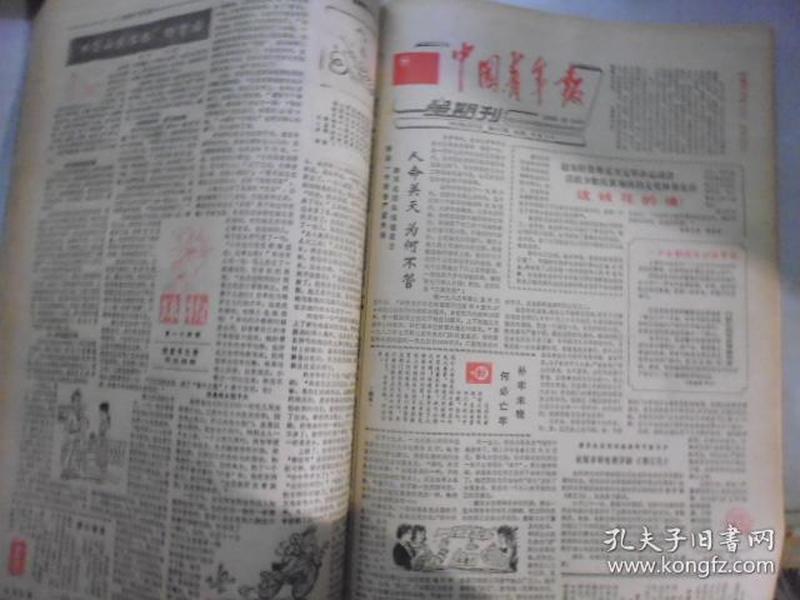 【青年报】1985 4.19-1985 8.16【中国青年报】1985 4.21-1985 8.18