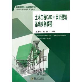 土木工程CAD+天正建筑基础实例教程