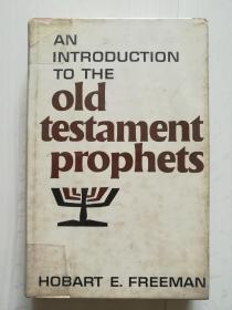 AN INTRODUCTION TO THE OLD  TESTAMENT PROPHETS
